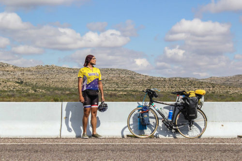 Денис Хмель изъездил на велосипеде обе Америки