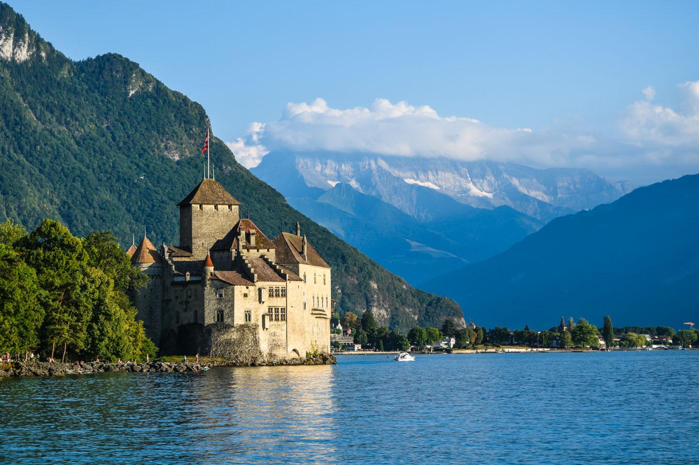 Велопутешествие по Европе. Швейцария - Веве, Монтрё