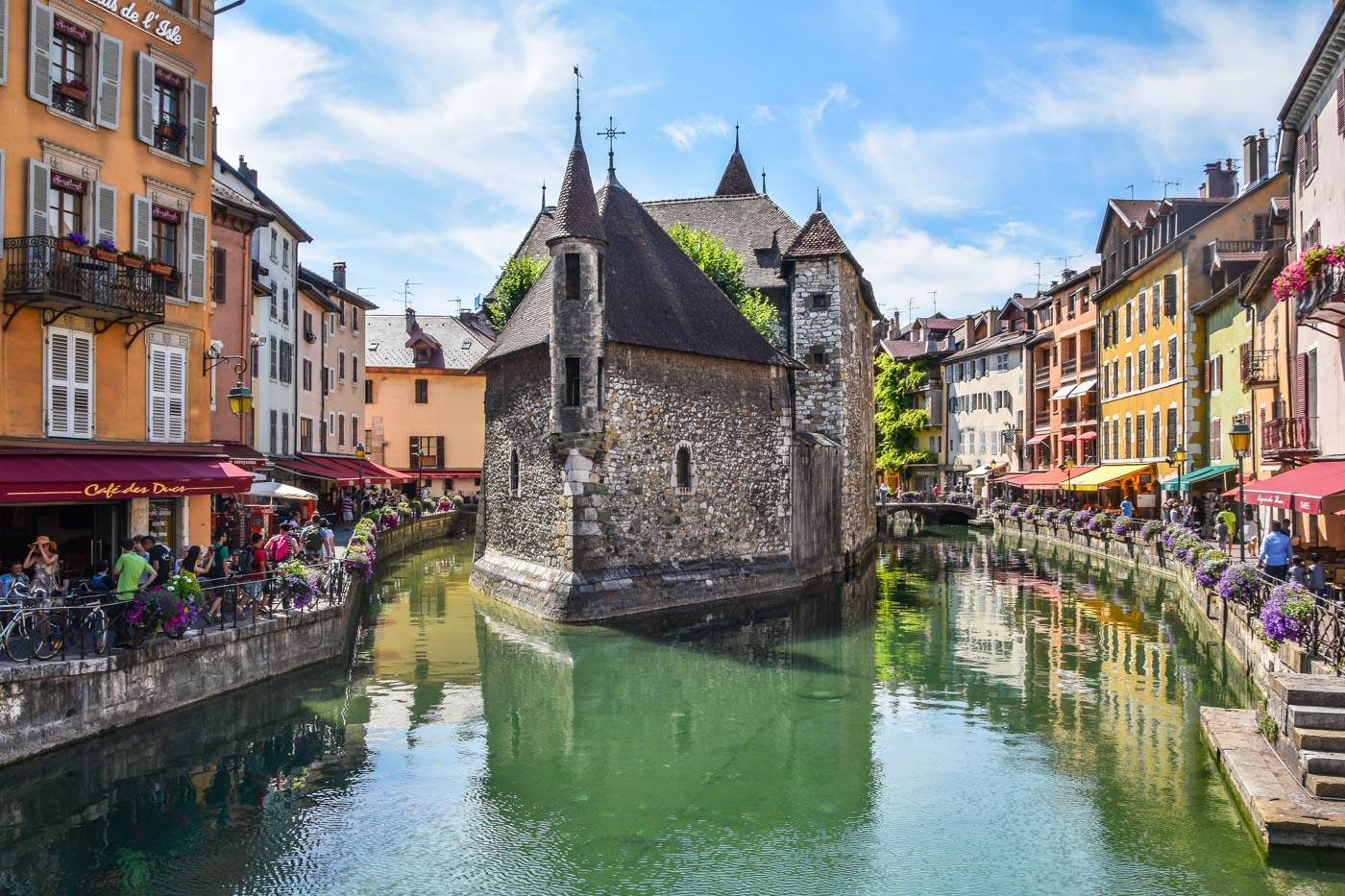 Велопутешествие по Европе. Франция - Анси