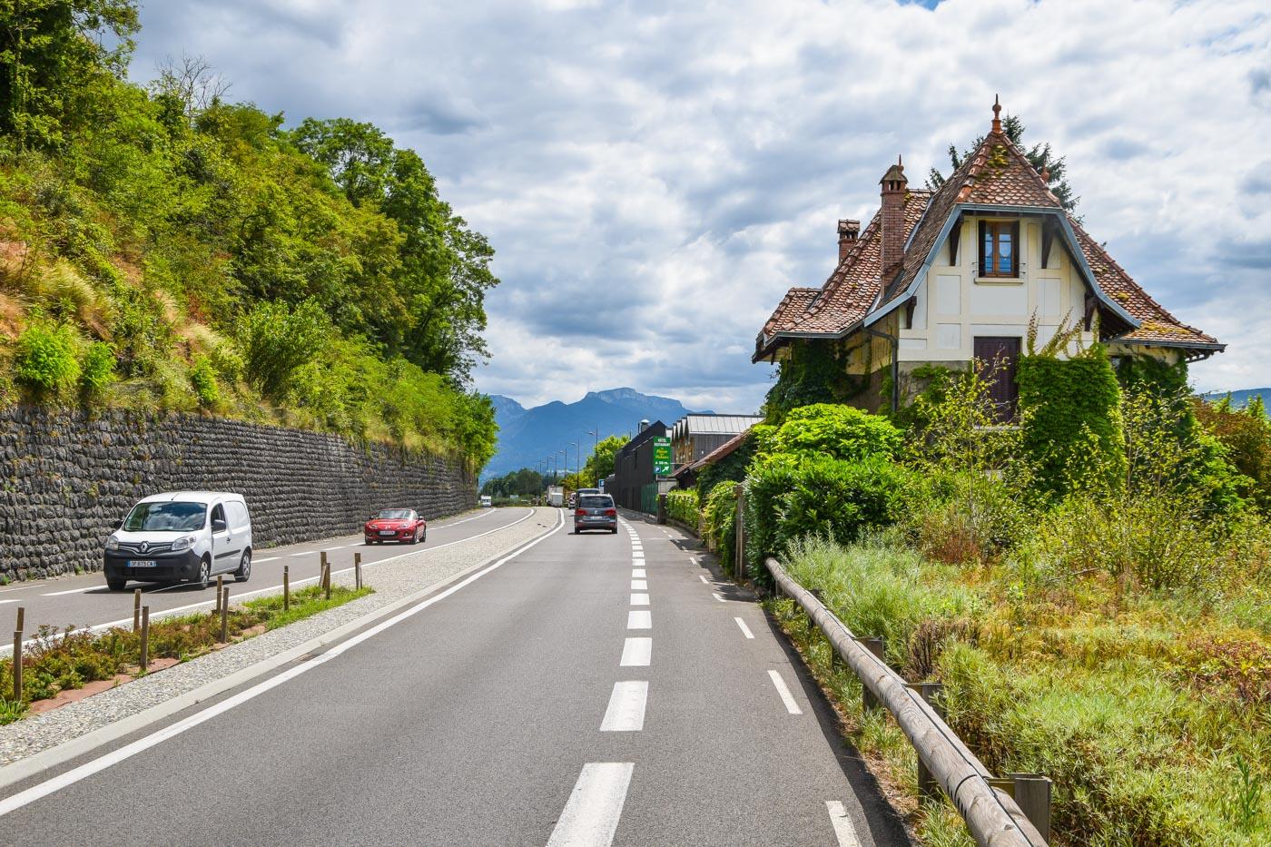 Велопутешествие по Европе. Франция - Шамбери