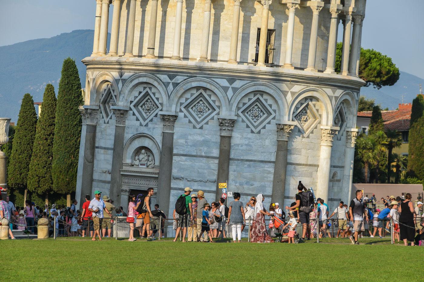 Путешествие на велосипеде по Италии - Пиза, Маса, Ливорно