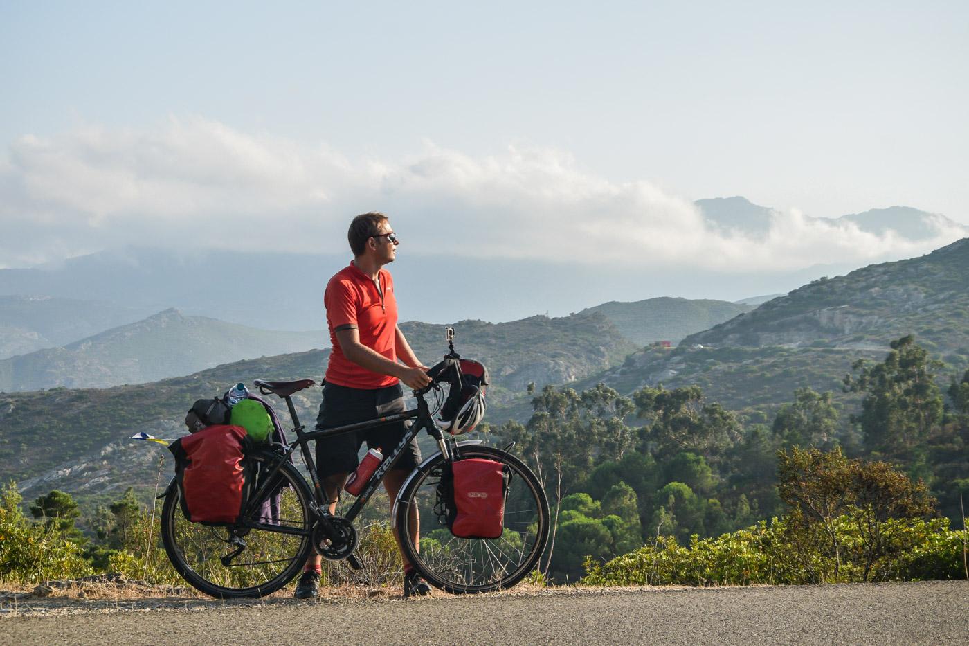 Путешествие на велосипеде по Корсике, Франция - Бастия, Сен-Флоран