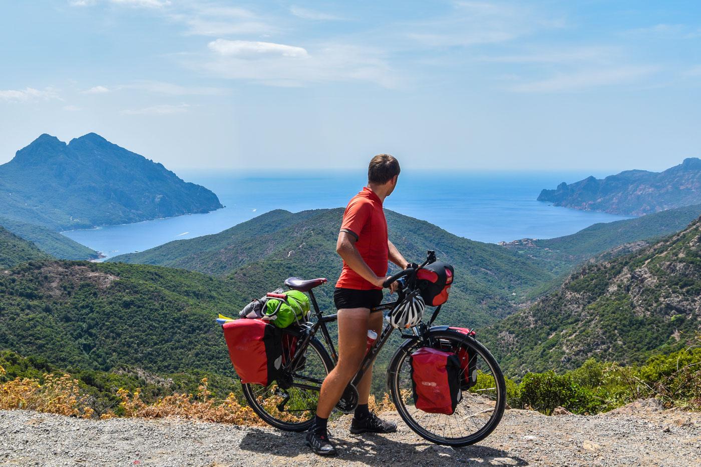 Путешествие на велосипеде по Корсике, Франция - Ото Порто, Пьяна